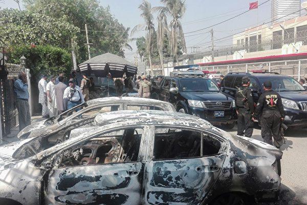 中共駐卡拉奇領事館遇襲 2名巴國警察死亡