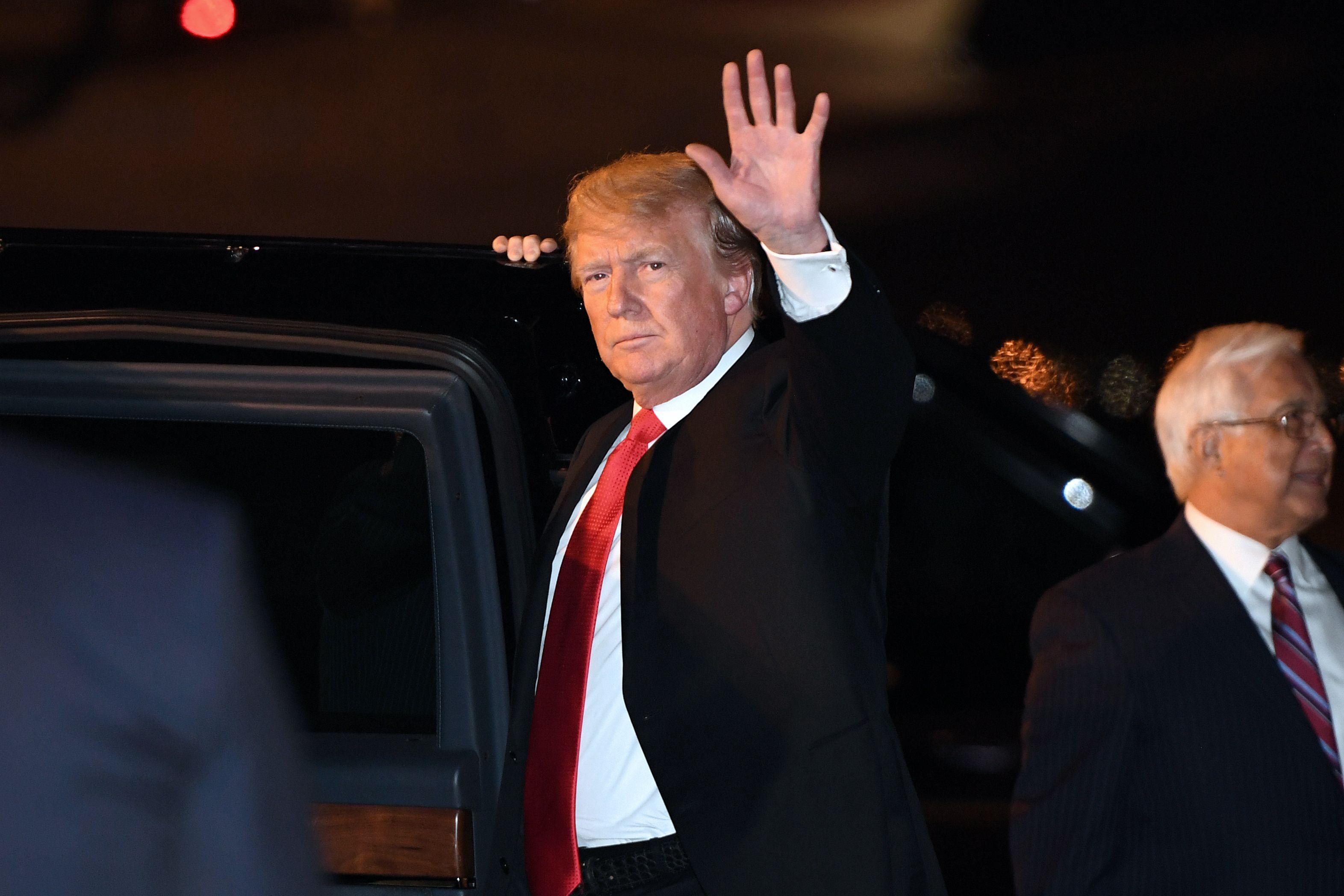 特習會 特朗普將提中共限制美公民離境問題