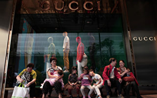 中國遊客減少 奢侈品廠商股票下跌
