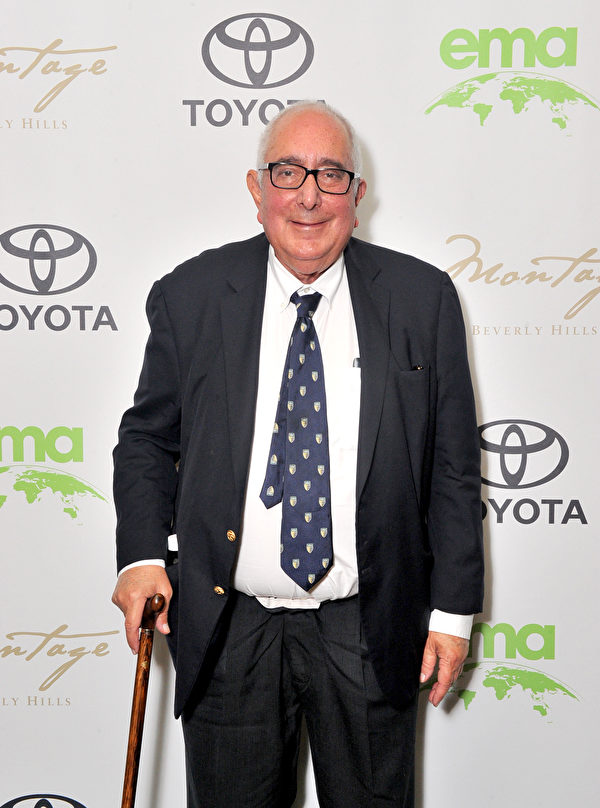 Day 2 of EMA IMPACT Summit Co-Hosted by Jaden Smith BEVERLY HILLS, CA - MAY 22: Ben Stein attends the EMA IMPACT Summit at Montage Beverly Hills on May 22, 2018 in Beverly Hills, California. (Photo by Jerod Harris/Getty Images for Environmental Media Association)
