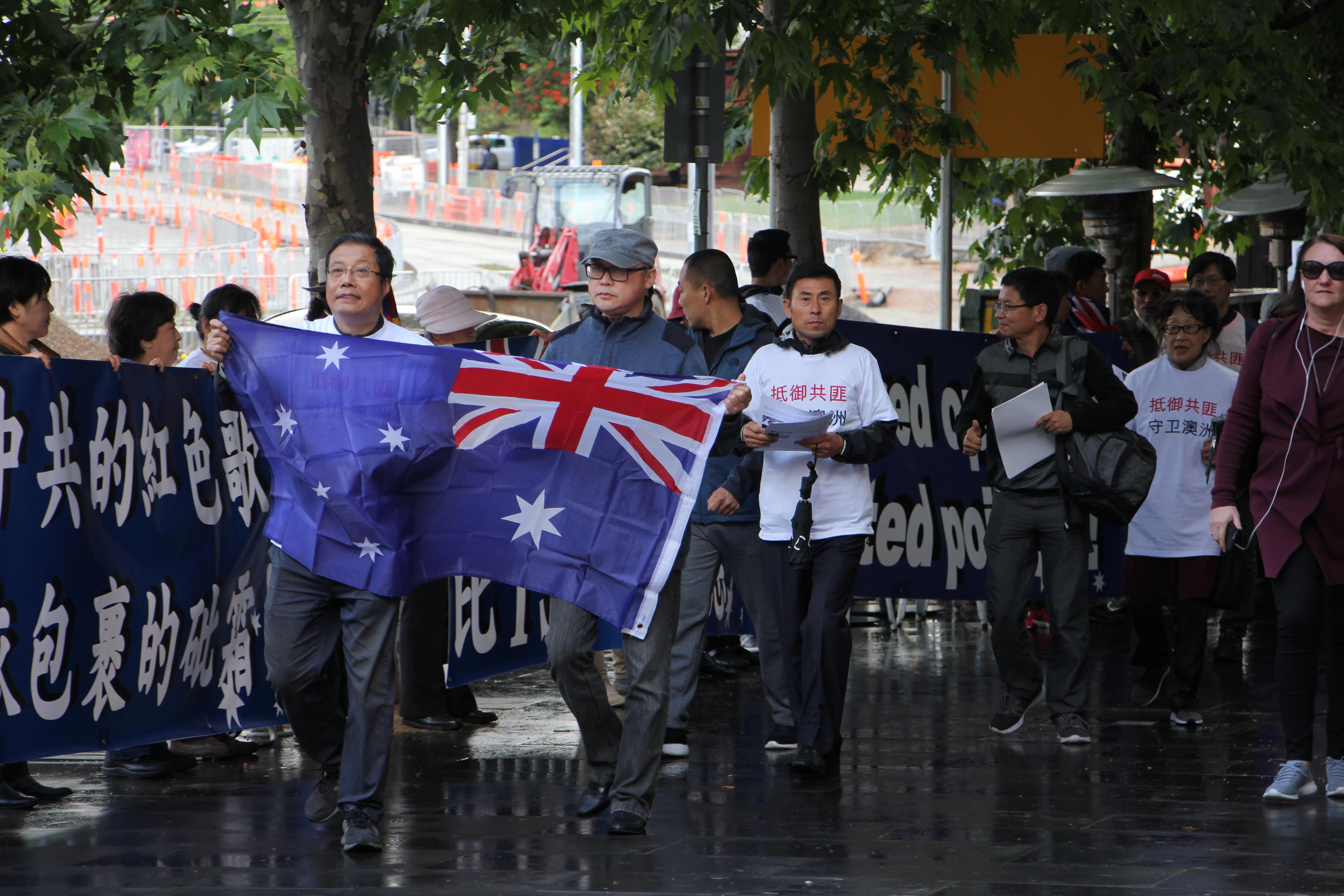 悉尼墨爾本民眾強烈抵制中共紅歌劇上演