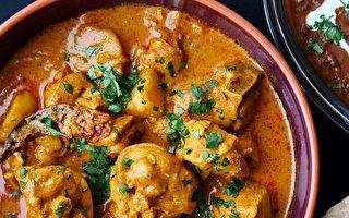 位于温哥华的新印度自助餐提供的美食。