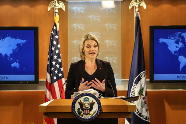 特朗普擬提名諾爾特 接任美駐聯合國大使