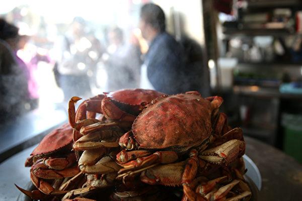 加州珍宝蟹商业捕捞季正式启动