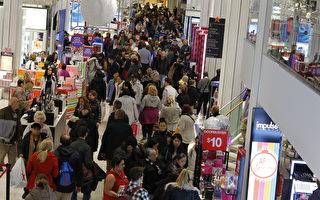 雖然股市低迷及聯邦政府部分關門,美國消費者信心並未消退,並使零售業在今年假期購物季創下六年來最強勁的銷售記錄。