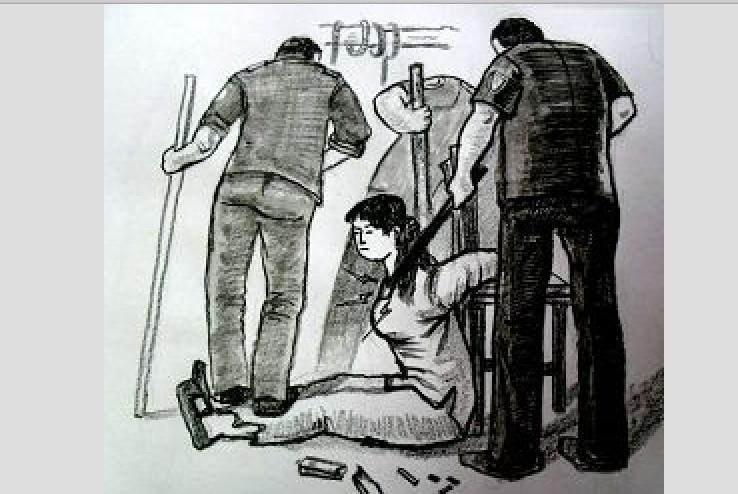 女警叫囂不怕下十八層地獄 毆打69歲老人