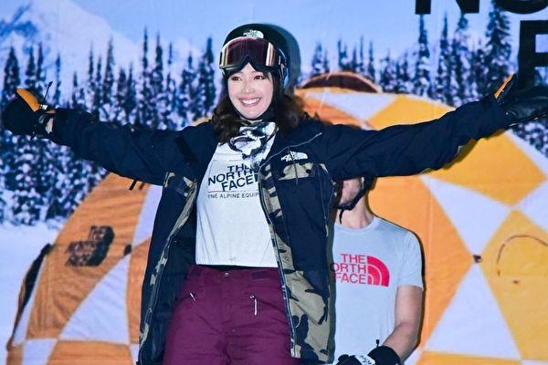 台名模王心恬 挑戰台灣首例雪地Runway秀