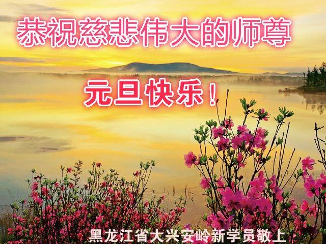 大陸各行業法輪功學員祝李洪志師父新年好