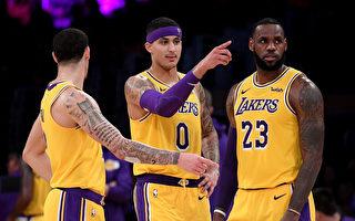 NBA:湖人击落太阳 取三连胜排西部第五