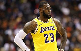 NBA:詹姆斯攜鮑爾「三雙」湖人大勝黃蜂