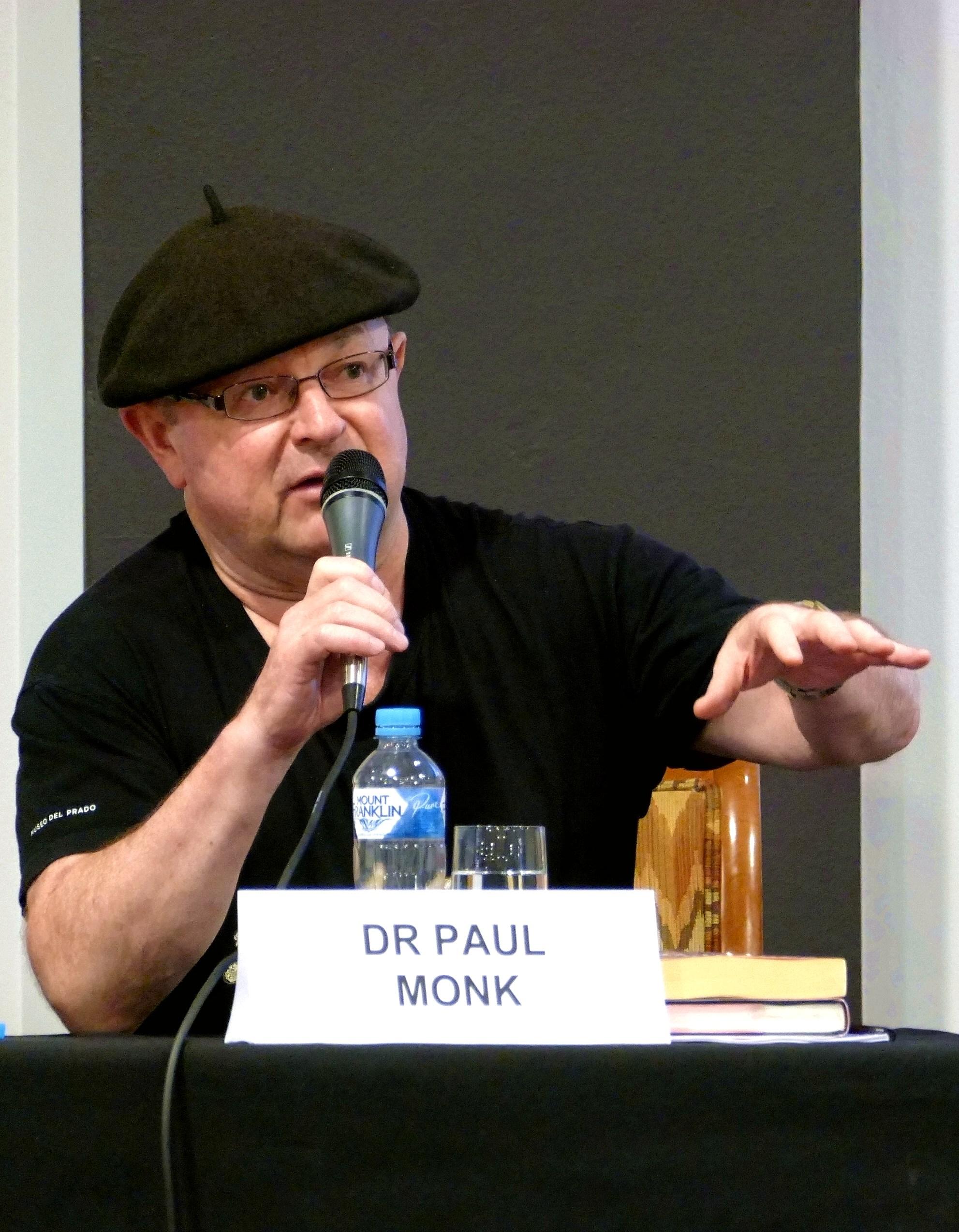 蒙克(Paul Monk)博士表示,外界擔憂的是中共體制而不是中國文化。(安平雅/大紀元)