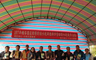 杂粮产销班栽种黑豆有成 竹北市农会办观摩会