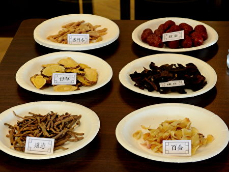 百合、麦门冬、陈皮、远志、红枣等都是属于肺部用药。
