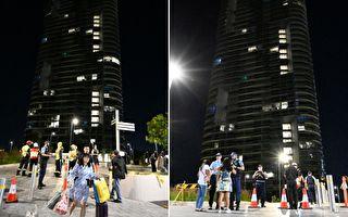 悉尼高层公寓传出破裂声 数千住户疏散