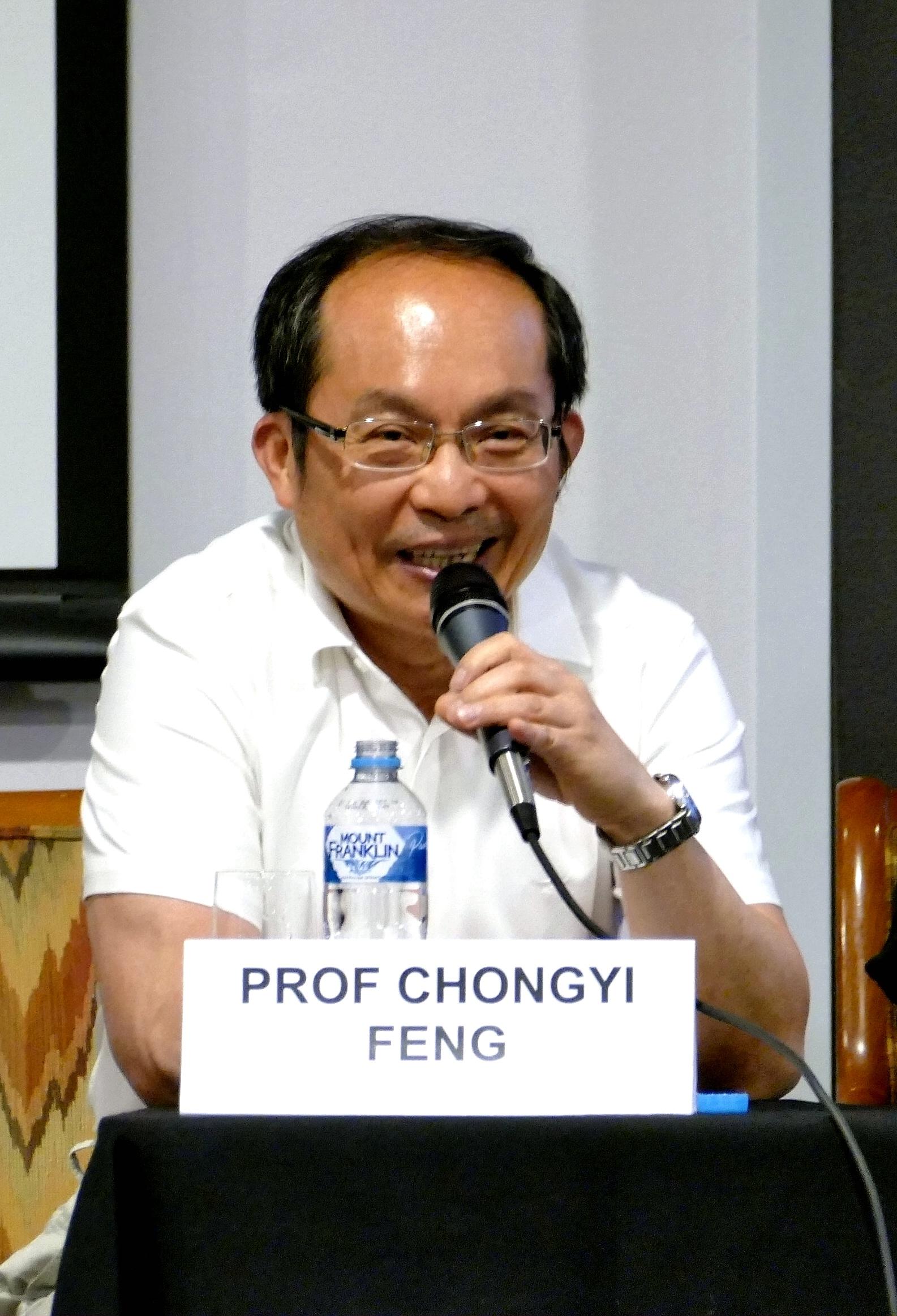 馮崇義教授認為,中共的滲透有悖於西方國家價值觀。(安平雅/大紀元)