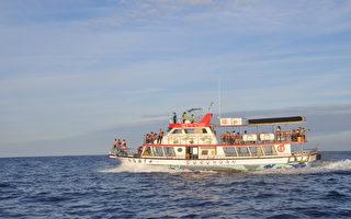 花蓮河川整治連兩年奪金質獎 搭賞鯨船海堤觀摩