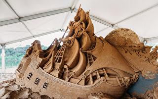 """莫宁顿半岛沙雕展:彼得潘带您来到""""梦幻岛"""""""