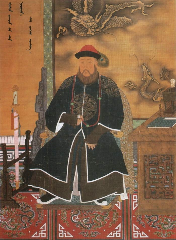多爾袞朝服像。(公有領域)