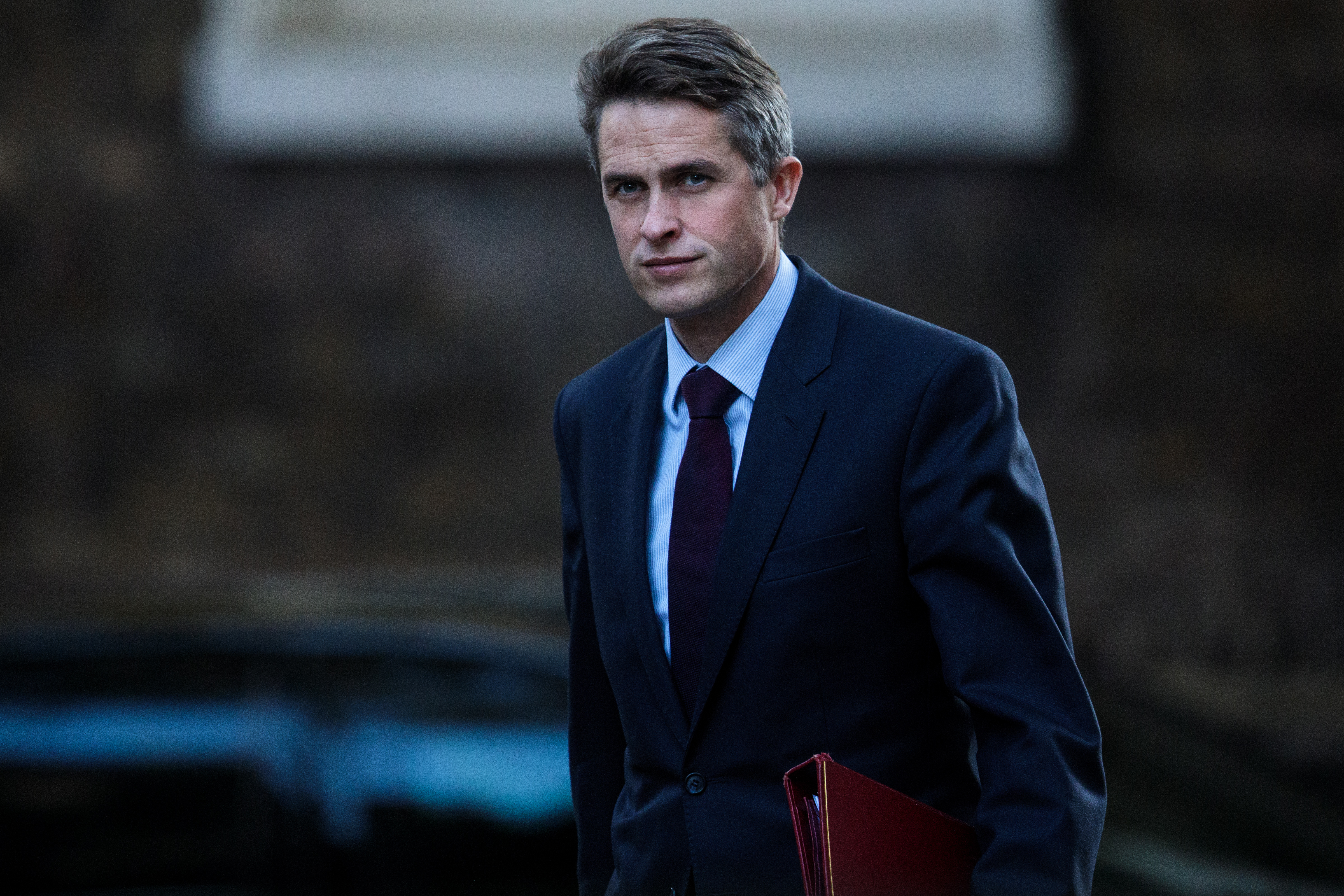 「我對華為在英國提供5G網絡(技術)表示嚴重的、非常深切的擔憂。這是我們必須非常密切關注的事情。」 威廉姆森說。(Jack Taylor/Getty Images)