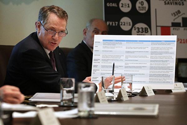 美贸易代表:90天内谈判若不成功 加征关税