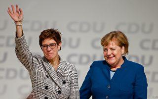 德国最大党改组 AKK接棒将继承默克尔路线
