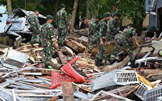 印尼海啸增至373死 川普推文哀悼遇难者