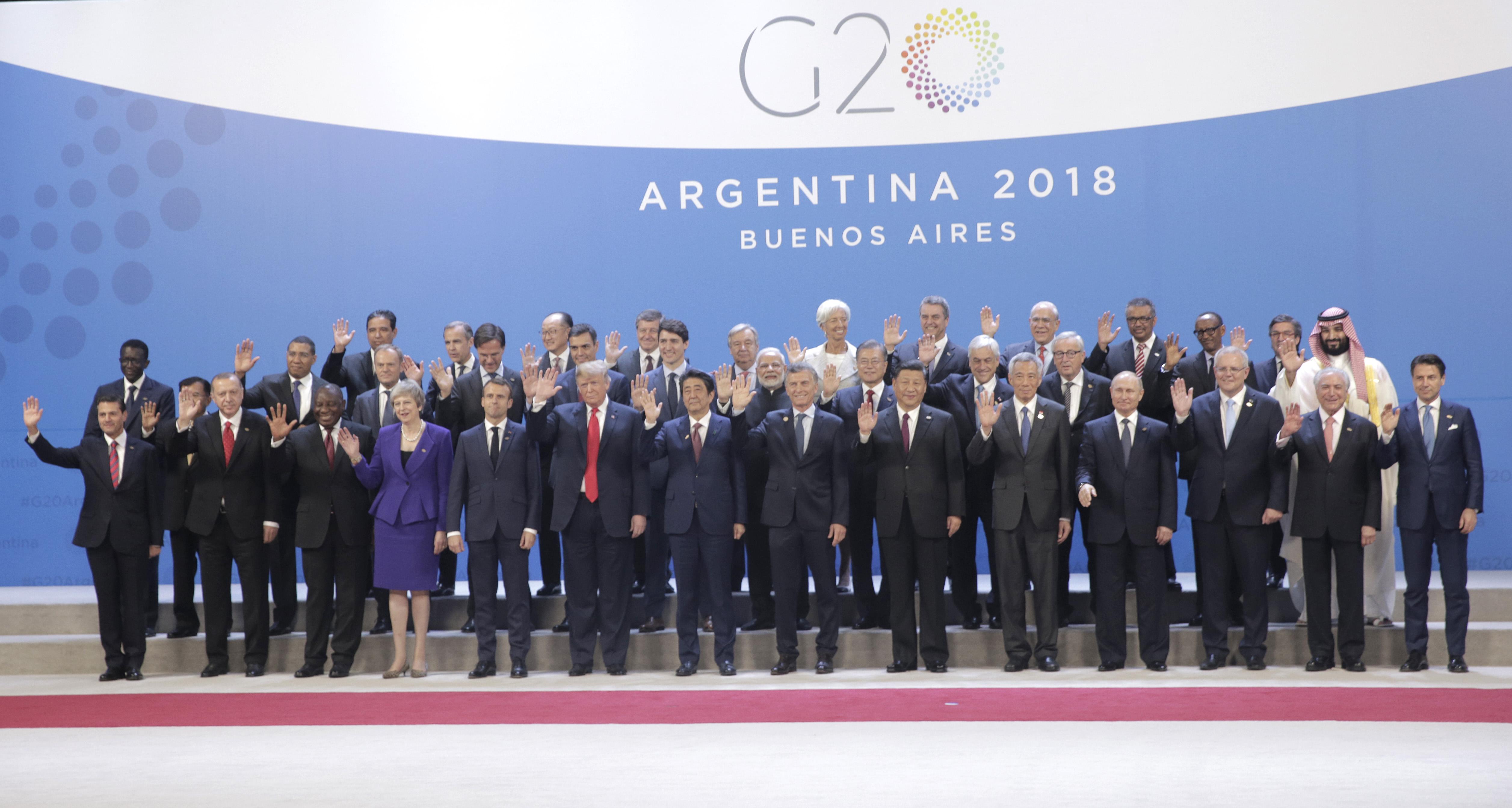 G20峰會開幕 特朗普動向和領袖公報成焦點