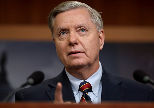 美國資深參議員格雷厄姆(Lindsey Graham)。(Win McNamee/Getty Images)