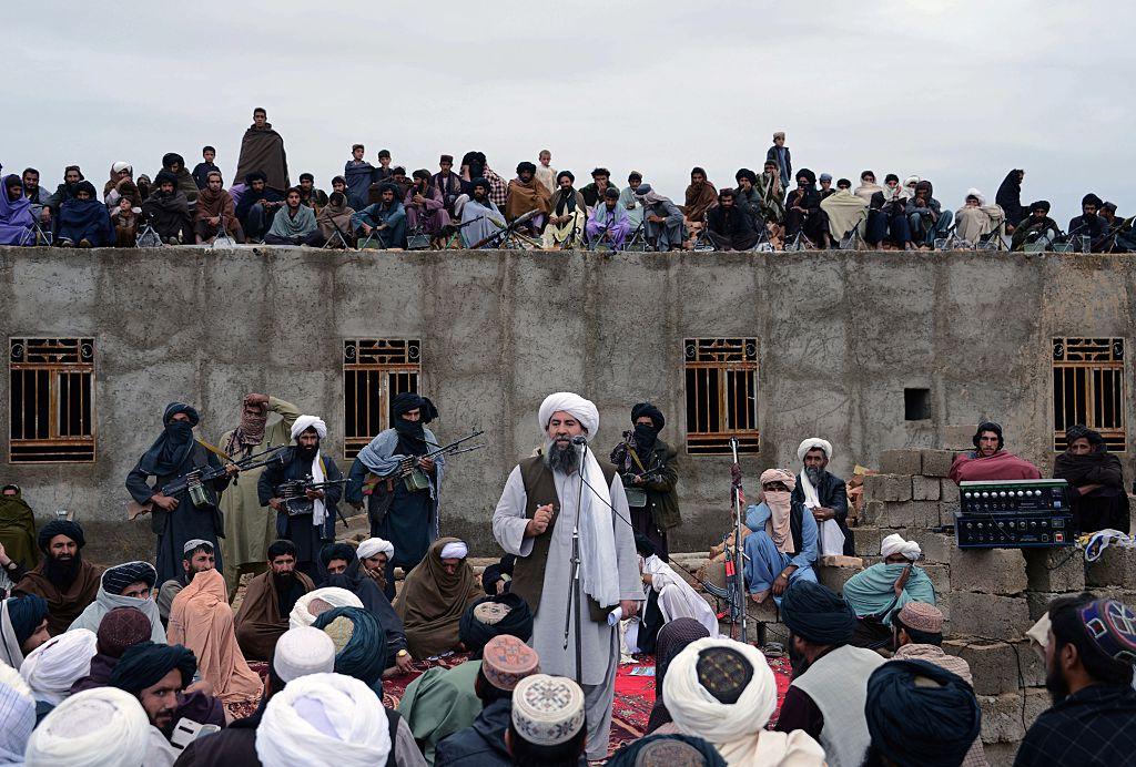 12月1日,美軍的無人機襲擊炸死了塔利班高級頭目阿卜杜勒・馬南(Mullah Abdul Manan)。(JAVED TANVEER/AFP/Getty Images)
