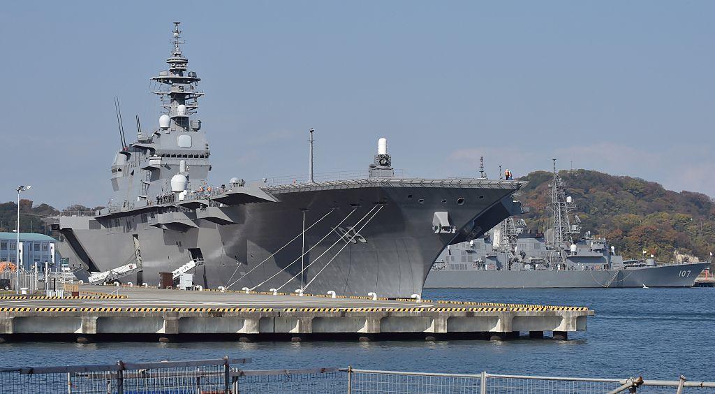 應對中共海上威脅 日本擬軍艦航母化 配戰機
