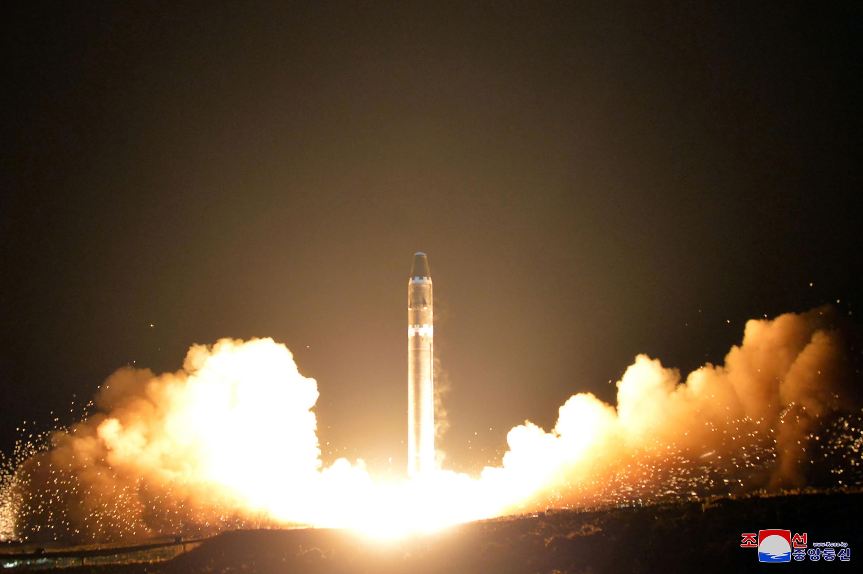 日媒:北韓進行與導彈相關的遙測裝置測試