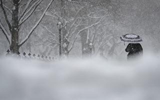 美国中西部遭暴风雪袭击 引发众多交通问题