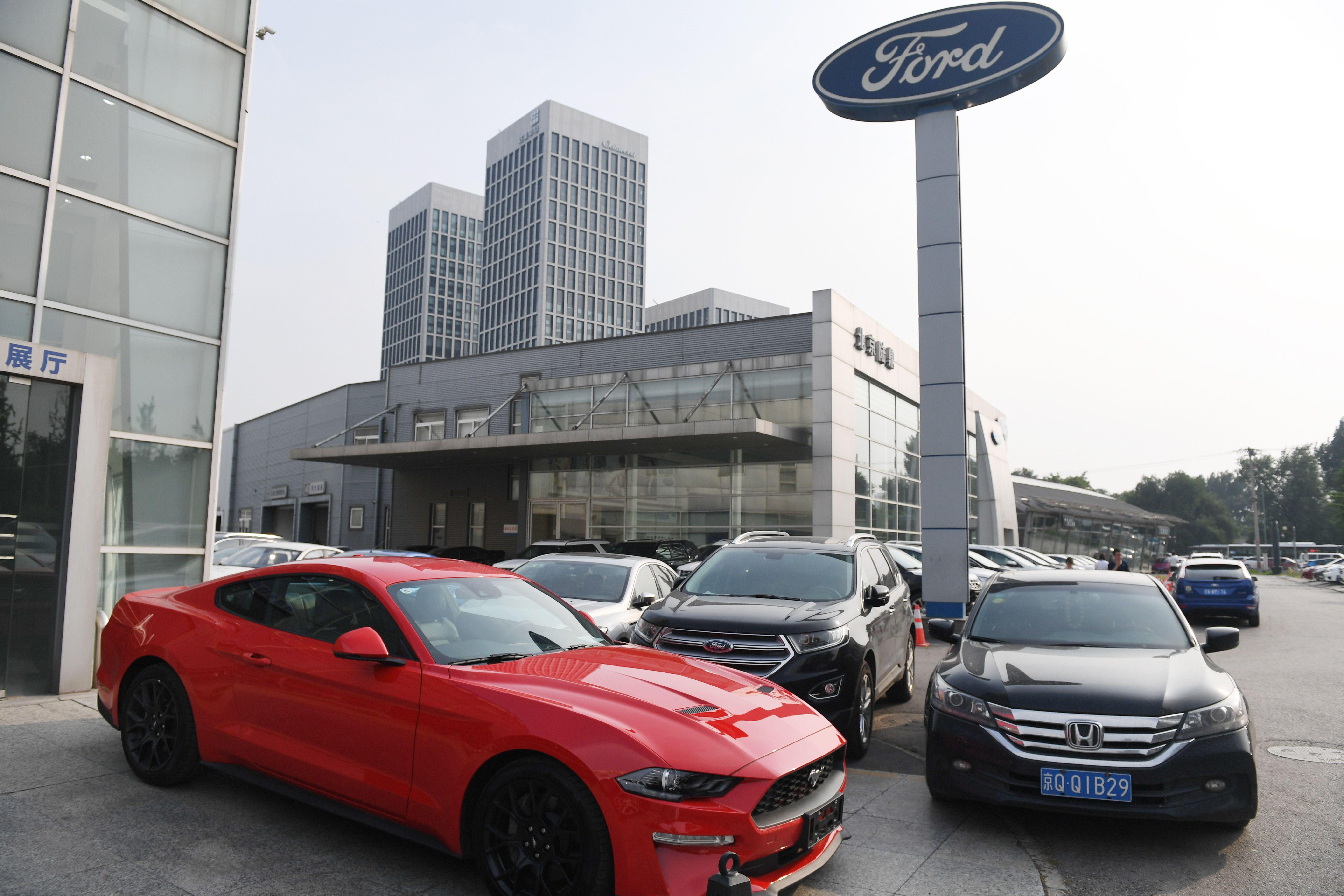 中國汽車市場進入寒冬 外商失策陷痛苦抉擇