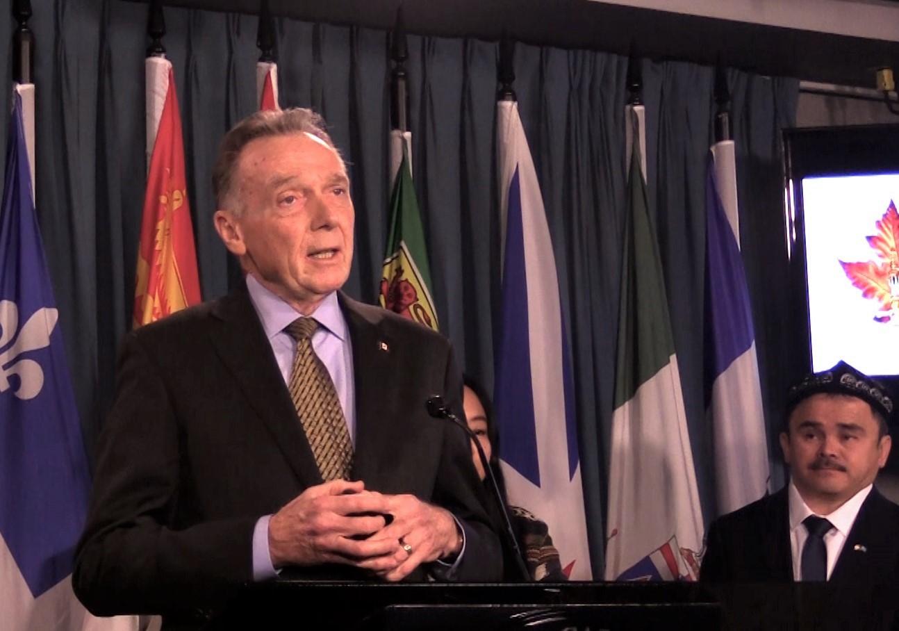 加拿大國會議員Peter Kent。(新唐人提供)