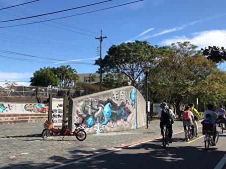 東豐綠色走廊是腳踏車專屬道路。