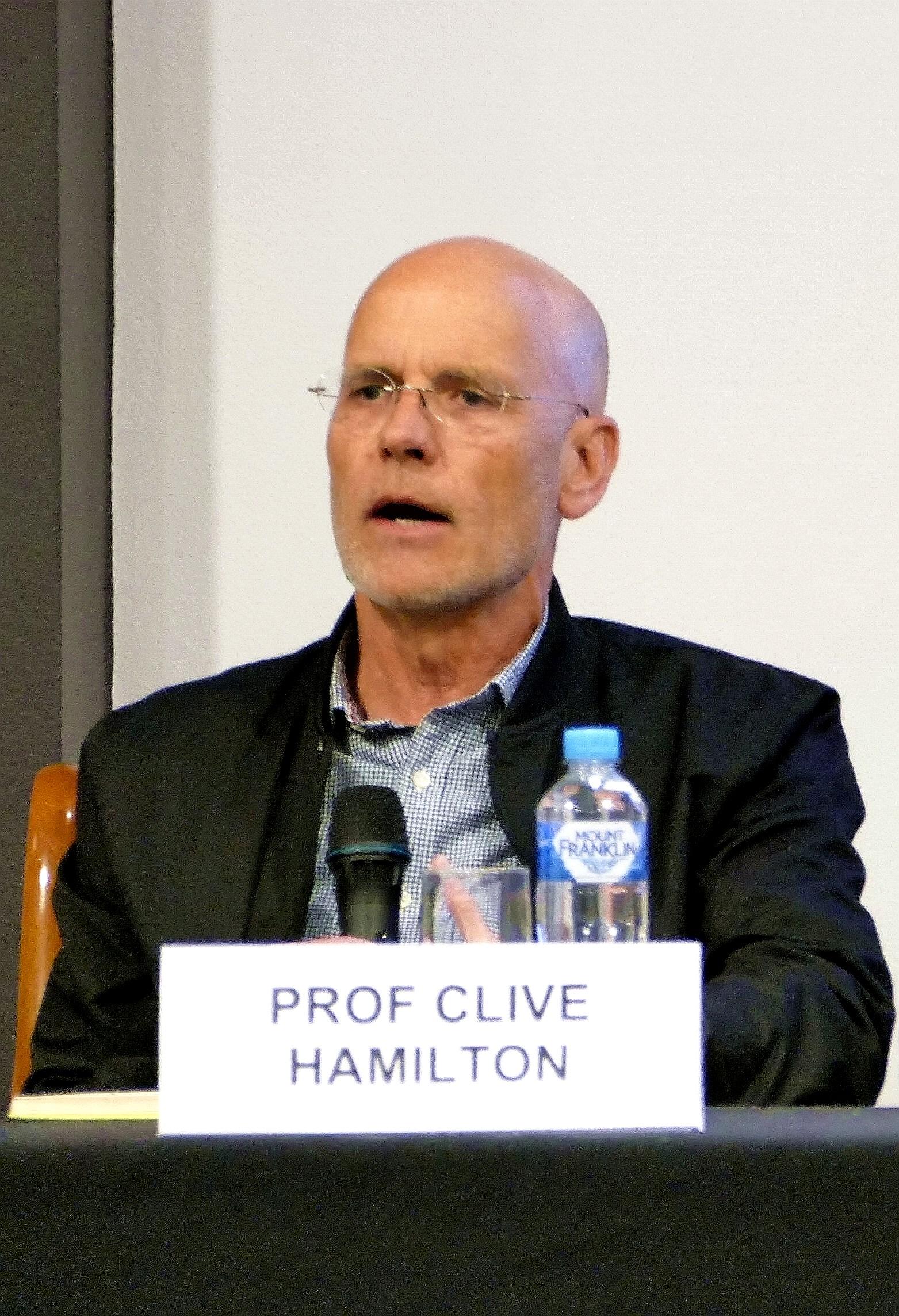 咸美頓(Clive Hamilton)教授表示,澳洲人歡迎真正的中國文化,而不是中共的滲透。(安平雅/大紀元)