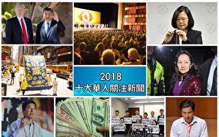 【年终盘点】2018华人十大关注新闻(上)
