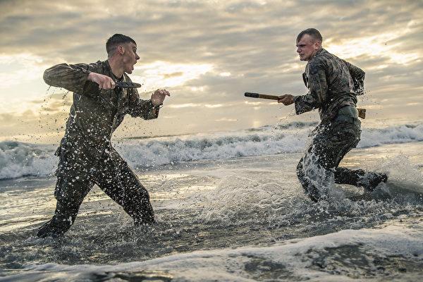 美海軍陸戰隊30天內兩次部署保衛美使館