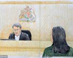 孟晚舟(右)在保释听证会上。围绕孟晚舟案,温哥华华人律师撰文,希望华人朋友从中得到一些启示。