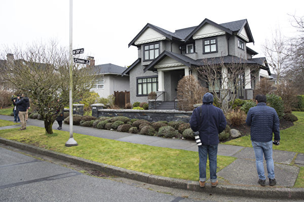 華為首席財務官孟晚舟獲交保後居住在溫哥華的豪宅。(Jason Redmond / AFP)