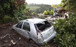 组图:巴西发生溃坝惨剧 至少9死300失踪