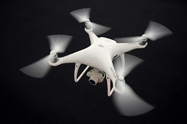 无人机公司大疆创新爆出内部腐败问题。图为大疆制造的无人机。(AFP)