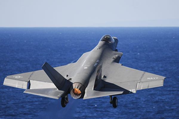 從航母起降 F-35C隱形戰機已具備空襲能力