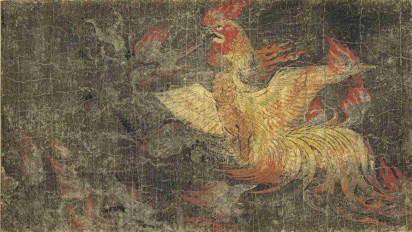 日本平安時代《地獄》草紙,局部。(公有領域)