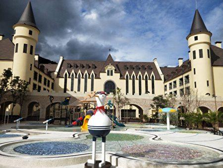 花莲酒店试营运抢过年商机,60亿重金打造哈利波特城堡。