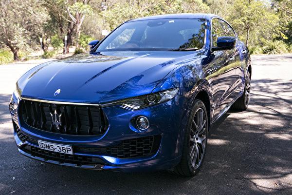 圖:2018年卑省豪車銷售出現全面下跌,其中瑪莎拉蒂(Maseratis)跌幅最大,銷售量幾乎下跌了一半。(大紀元)