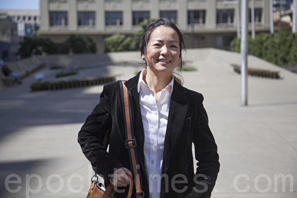 曾參選BART董事的趙怡華(Eva Chao)。(大紀元資料圖)