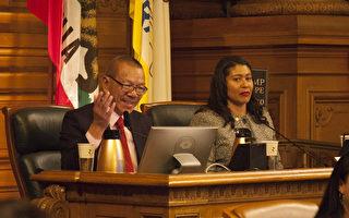 余鼎昂当选为旧金山市议长