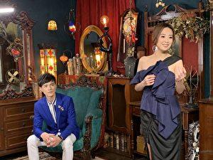 喬幼(右)新歌《拜託月娘》MV,找來師弟鄔兆邦(左)對唱與演出