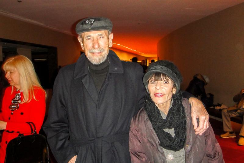 女作家、前美國廣播公司副總裁Marilyn Olin女士和先生Richard Berger 觀賞了2019年1月10日神韻在紐約的首場演出。(滕冬育/大紀元)